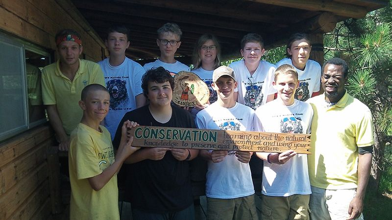 Summer Camp conservation day